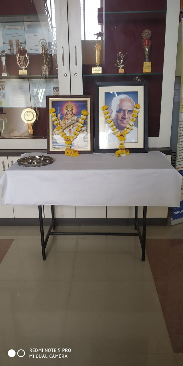 Shri.Shankarrao Bajirao Patil Punyatithi 13th September in our College Campus on Monday 14th September2020, SBPCSC